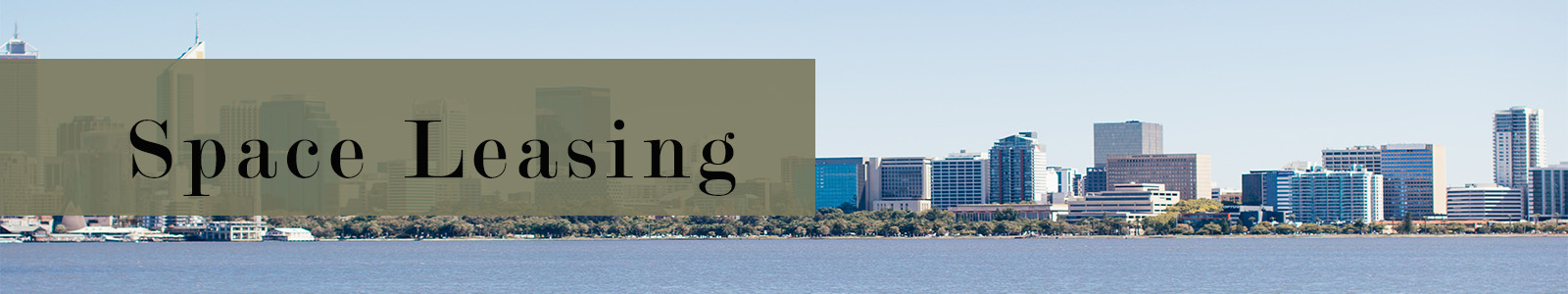 Space Leasing Banner